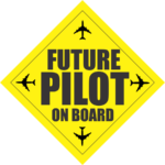FUTURE PILOT ON BOARD TAG 1000